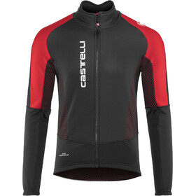 Castelli Mortirolo V Veste Homme, black/red
